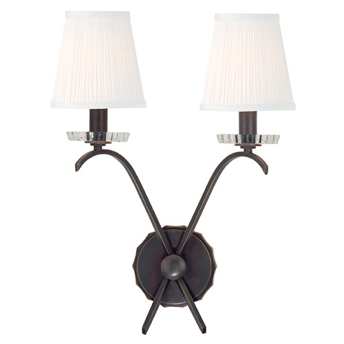Hudson Valley Lighting Clyde 2 Light Sconce - Old Bronze 4482-OB