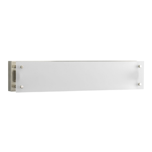 Progress Lighting Progress Modern Bathroom Light with White Glass P7211-09EB