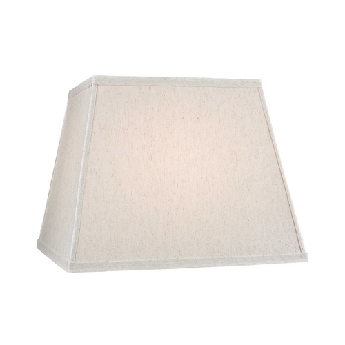 Dolan Designs Lighting Large Square Lamp Shade in Beige Linen with Spider Assembly 140143