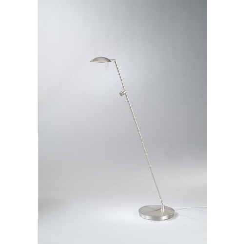 Holtkoetter Lighting Holtkoetter Modern Floor Lamp in Satin Nickel Finish 6470 SN