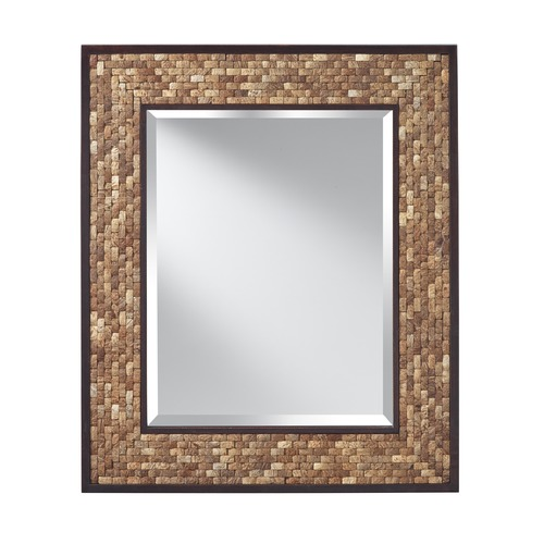 Feiss Lighting Weave Rectangle 31-Inch Mirror MR1211NCK
