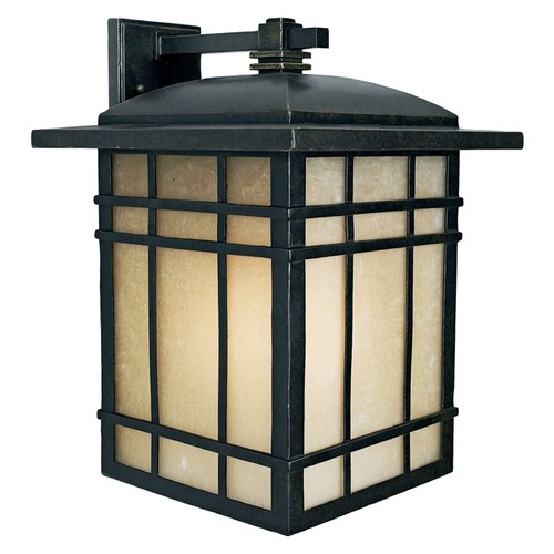 Quoizel Lighting Quoizel Hillcrest Imperial Bronze Outdoor Wall Light HC8513IBFL