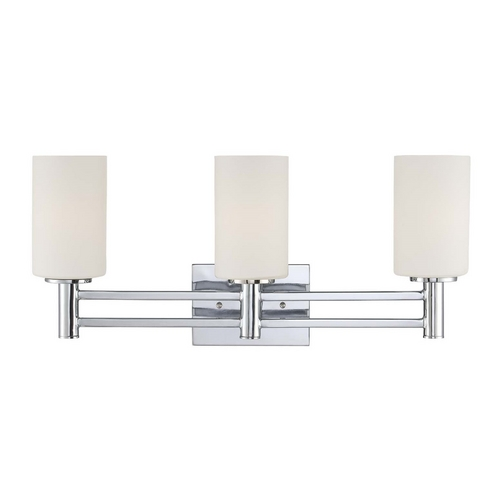 Lite Source Lighting Lite Source Lighting Jerrell Chrome Bathroom Light LS-16553C/FRO