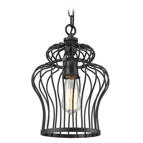 Elk Lighting Elk Lighting Yardley Oil Rubbed Bronze Mini-Pendant Light 14242/1