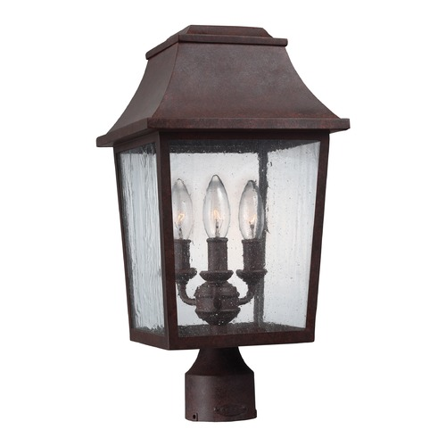 Feiss Lighting Feiss Lighting Estes Patina Copper Post Light OL11909PCR