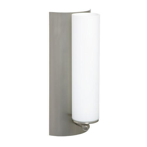 Besa Lighting Besa Lighting Metro Satin Nickel LED Sconce 1WE-118607-LED-SN