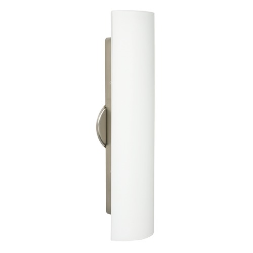 Besa Lighting Besa Lighting Darci Satin Nickel Sconce 272607-SN