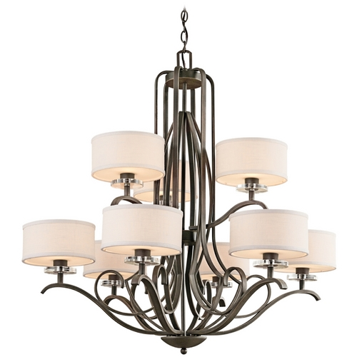Kichler Lighting Kichler Chandelier in Bronze Finish 42478OZ