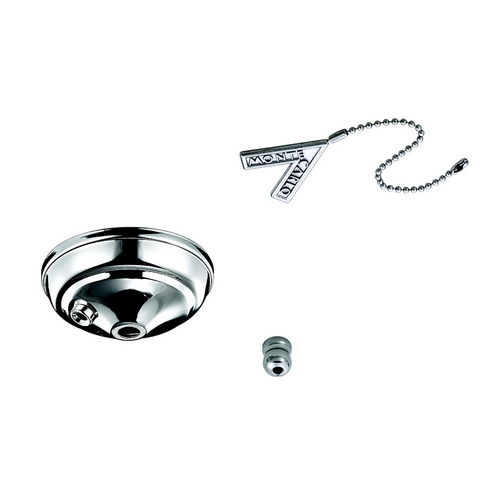 Monte Carlo Fans Ceiling Adaptor in Polished Nickel Finish MC83PN