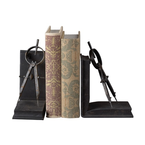 Sterling Lighting Sterling Lighting Restoration Rusted Black Bookend 51-10002