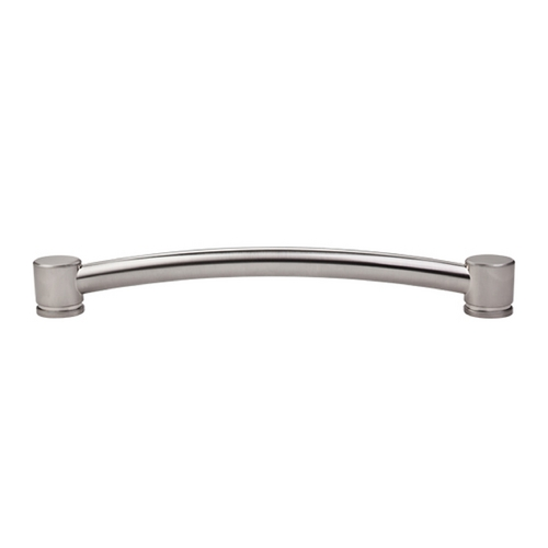 Top Knobs Hardware Modern Cabinet Pull in Brushed Satin Nickel Finish TK67BSN