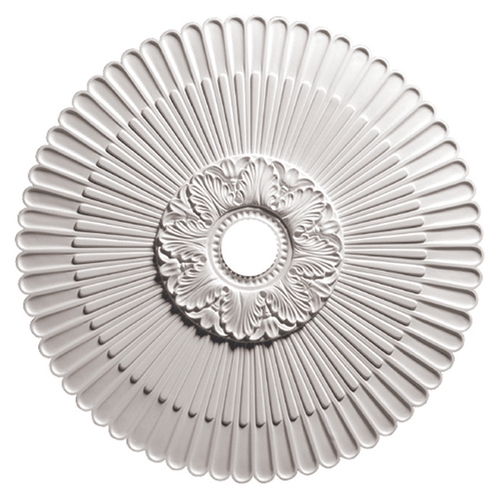 Focal Point Large Decorative Scalloped Ceiling Medallion - 29-5/8-Inches Wide 80230