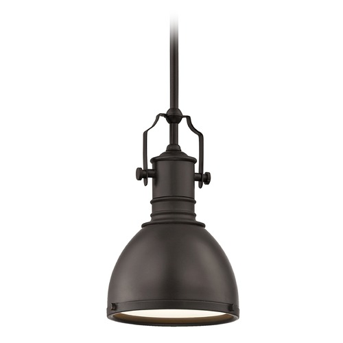 Design Classics Lighting Farmhouse Bronze Metal Pendant Light 7.38-Inch Wide 1765-220 SH1775-220 R1775-220