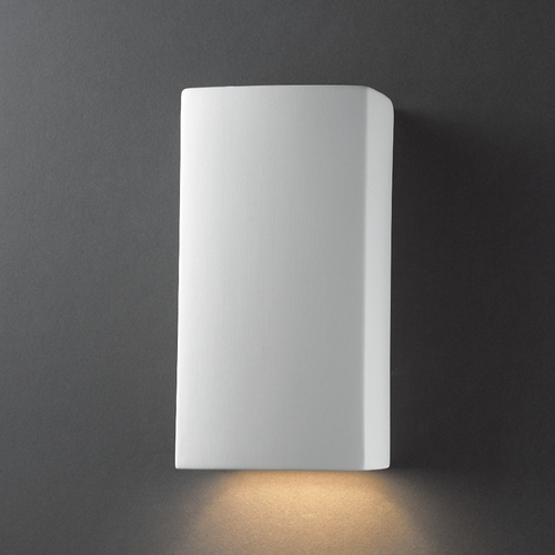 Justice Design Group Outdoor Wall Light in Bisque Finish CER-5910W-BIS
