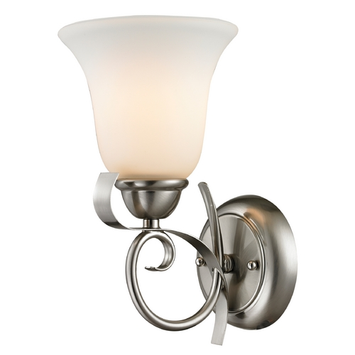 Cornerstone Lighting Cornerstone Lighting Brighton Brushed Nickel Sconce 1001WS/20