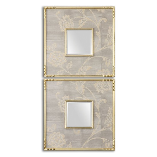 Uttermost Lighting Uttermost Evelyn Square Mirrors, Set of 2 14493