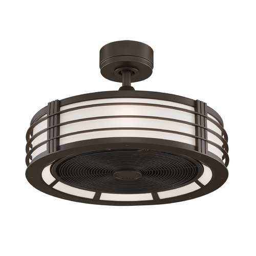 Fanimation Fans Fanimation Fans Beckwith Oil-Rubbed Bronze Ceiling Fan with Light FP7964OB