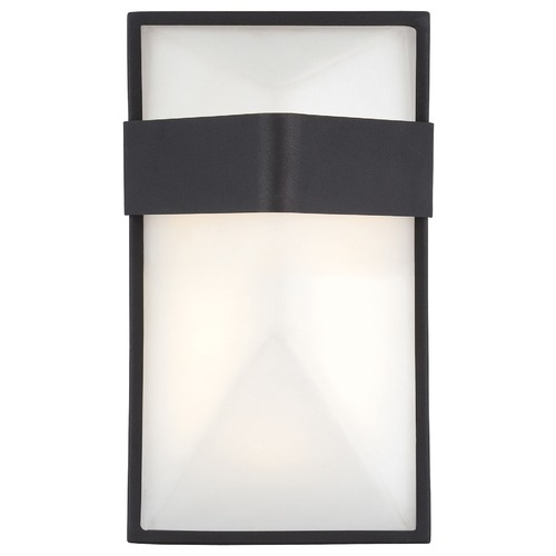 George Kovacs Lighting George Kovacs Wedge Black LED Sconce P1236-066-L