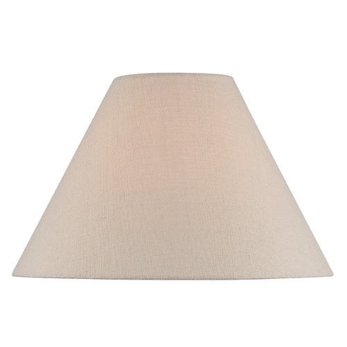 Lite Source Lighting Beige Empire Lamp Shade with Spider Assembly CH1254-16