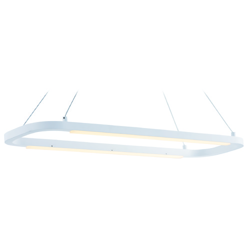 ET2 Lighting Jibe Matte White LED Island Light E23204-MW