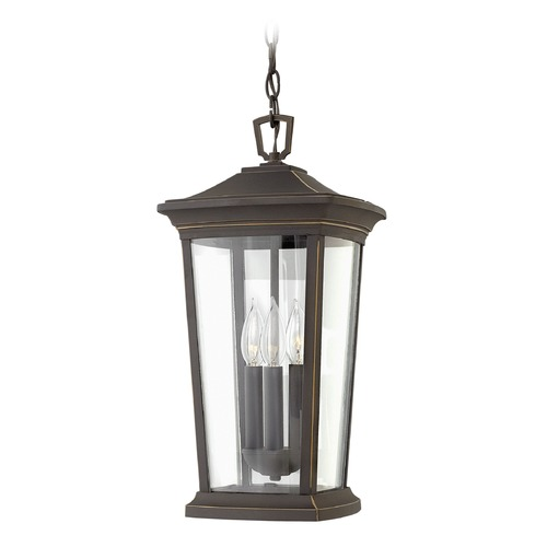 Hinkley Lighting Hinkley Lighting Bromley Oil Rubbed Bronze Outdoor Hanging Light 2362OZ