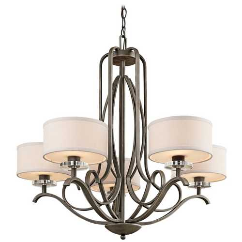 Kichler Lighting Kichler Chandelier in Bronze Finish 42476OZ