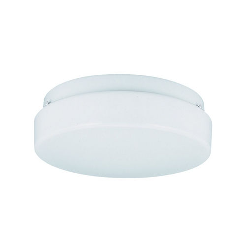 Sea Gull Lighting Modern Flushmount Light with White in White Finish 59232BLE-15