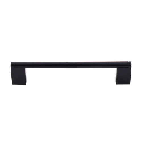 Top Knobs Hardware Modern Cabinet Pull in Flat Black Finish M1057