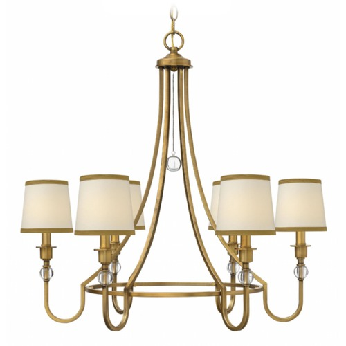 Hinkley Lighting Hinkley Morgan Brushed Bronze Chandelier 4876BR