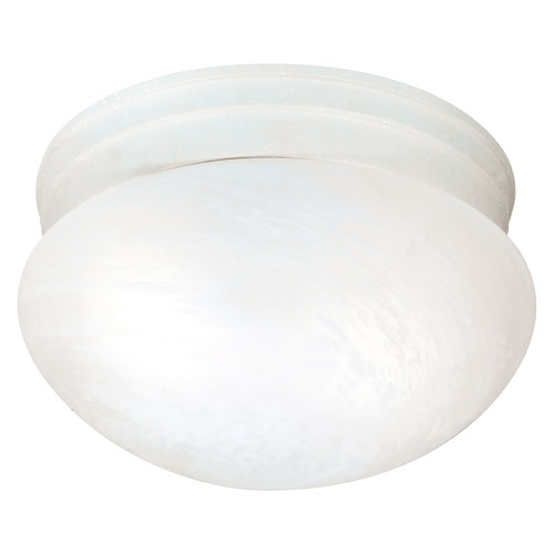 Nuvo Lighting Nuvo Lighting Textured White Flushmount Light SF76/613