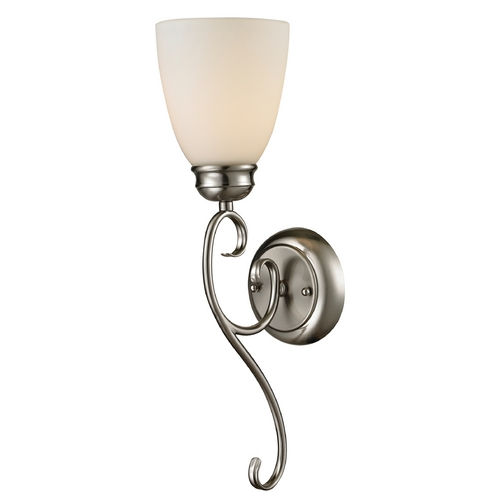 Cornerstone Lighting Cornerstone Lighting Chatham Brushed Nickel Sconce 1101WS/20