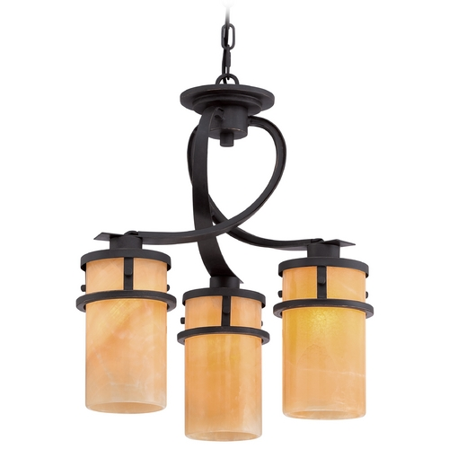 Quoizel Lighting Quoizel Kyle Imperial Bronze Mini-Chandelier KY5503IB