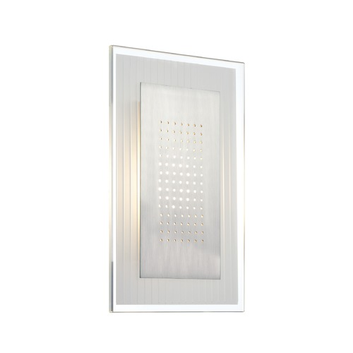 Lite Source Lighting Lite Source Flynn Polished Steel LED Sconce LS-16937
