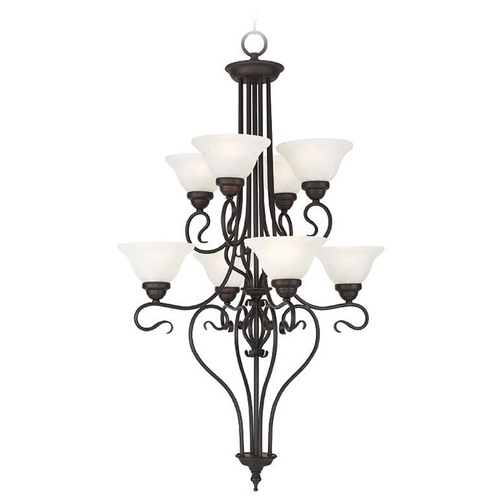 Livex Lighting Livex Lighting Coronado Bronze Chandelier 6118-07