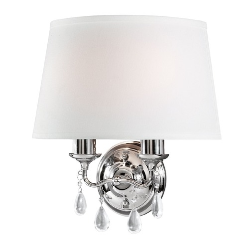 Sea Gull Lighting Sea Gull Lighting West Town Chrome Sconce 4110502BLE-05