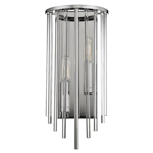 Hudson Valley Lighting Lewis ADA 2 Light Sconce - Polished Nickel 2511-PN