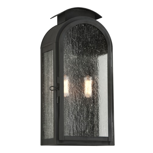 Troy Lighting Troy Lighting Copley Square Charred Iron Outdoor Wall Light B4402CI