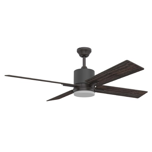 Craftmade Lighting 52-Inch Espresso Ceiling Fan with LED Light 3000K 1860LM TEA52ESP4-UCI