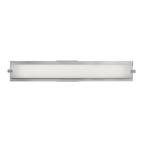 Access Lighting Single-Light ADA Approved Linear Bathroom Vanity Light 31010-BS/OPL