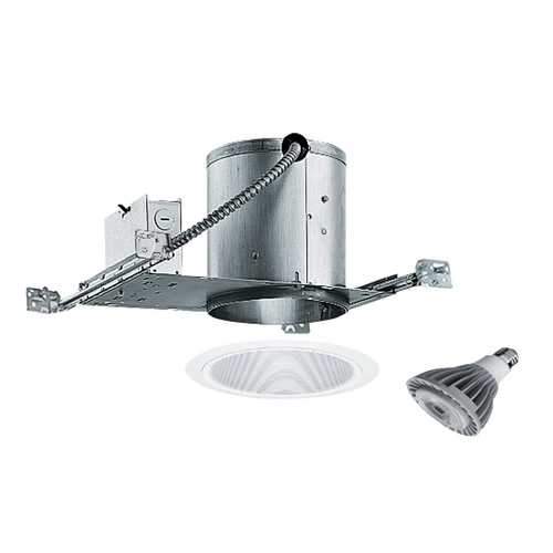 Juno Lighting Group 6-inch Recessed Lighting Kit with 15-Watt Led Bulb IC22/24W-WH LED
