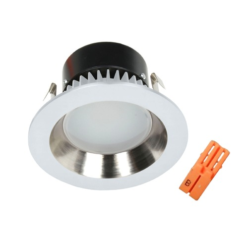 Recesso Lighting by Dolan Designs LED Retrofit Reflector Trim with Title 24 Converter for 4-Inch Recessed Cans 10903-05  KIT W/MALE WIRE CONNECTOR