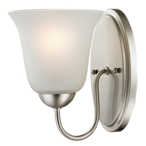 Cornerstone Lighting Cornerstone Lighting Conway Brushed Nickel Sconce 1201WS/20
