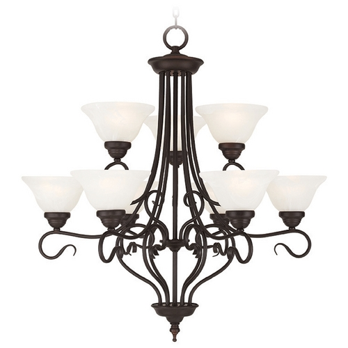 Livex Lighting Livex Lighting Coronado Bronze Chandelier 6119-07