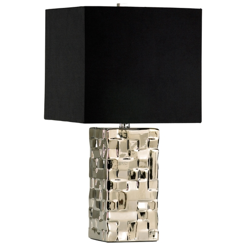 Cyan Design Cyan Design Java Silver Table Lamp with Square Shade 04385