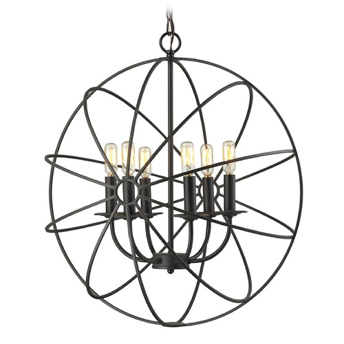 Elk Lighting Elk Lighting Yardley Oil Rubbed Bronze Chandelier 14244/6