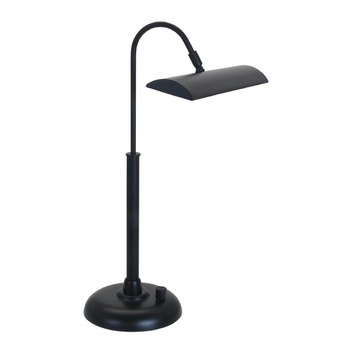 House of Troy Lighting House Of Troy Zenith Black LED Piano / Banker Lamp PZLEDZ100-7
