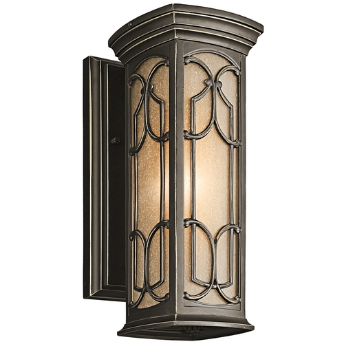 Kichler Lighting Kichler Outdoor Wall Light in Bronze Finish 49226OZ