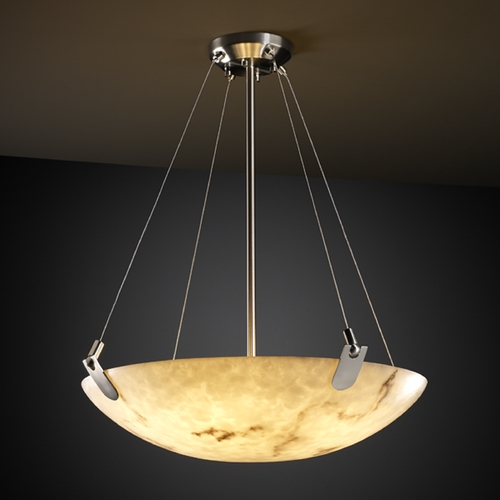 Justice Design Group Justice Design Group Lumenaria Collection Pendant Light FAL-9627-35-NCKL