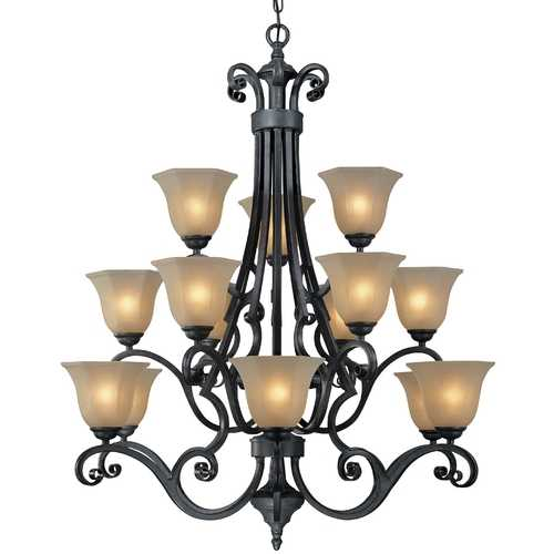Dolan Designs Lighting Fifteen-Light Chandelier 773-34