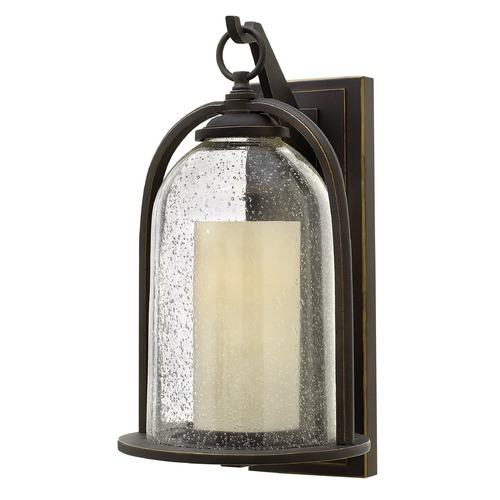 Hinkley Lighting Hinkley Lighting Quincy Oil Rubbed Bronze Outdoor Wall Light 2615OZ